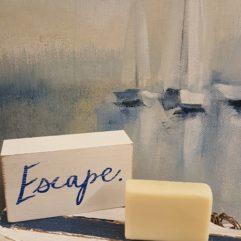 island escape goat milk soap